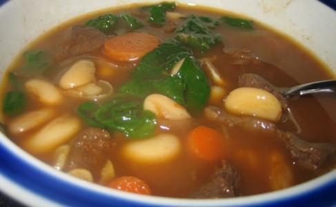 venison bean soup