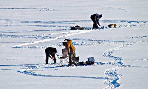 Northern Montana Ice Fishing Tournament