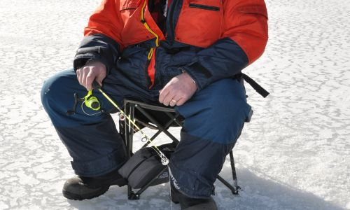Ice Fishing durning the Holidays