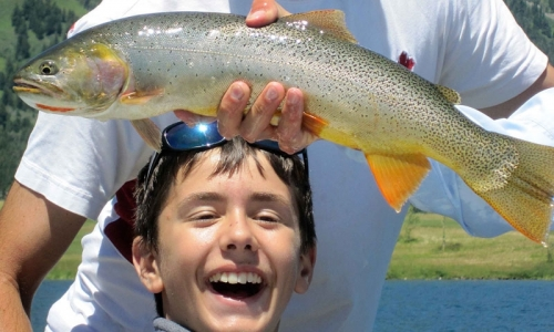 Kids Fishing Day in Montana