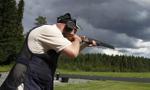 Trap Shooting Tournament in Montana