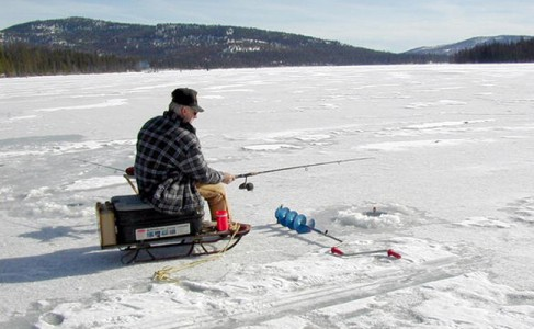 montana ice fishing