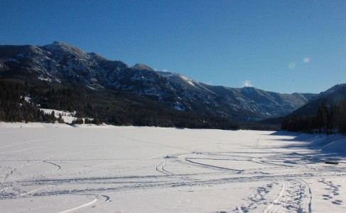 Ice fishing on nelson reservoir montana hunting and for Bozeman fishing report