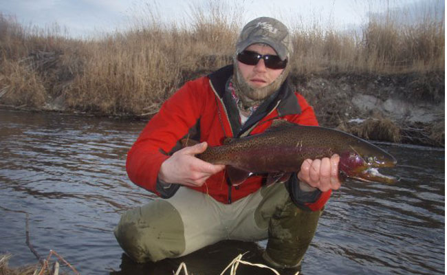 Winter fly fishing report for across the state montana for Hunting and fishing forecast