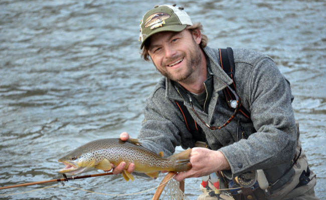the montana fishing company fly fishing report from the