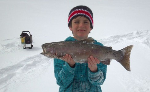 Hebgen lake ice and fishing report montana hunting and for Hebgen lake fishing report