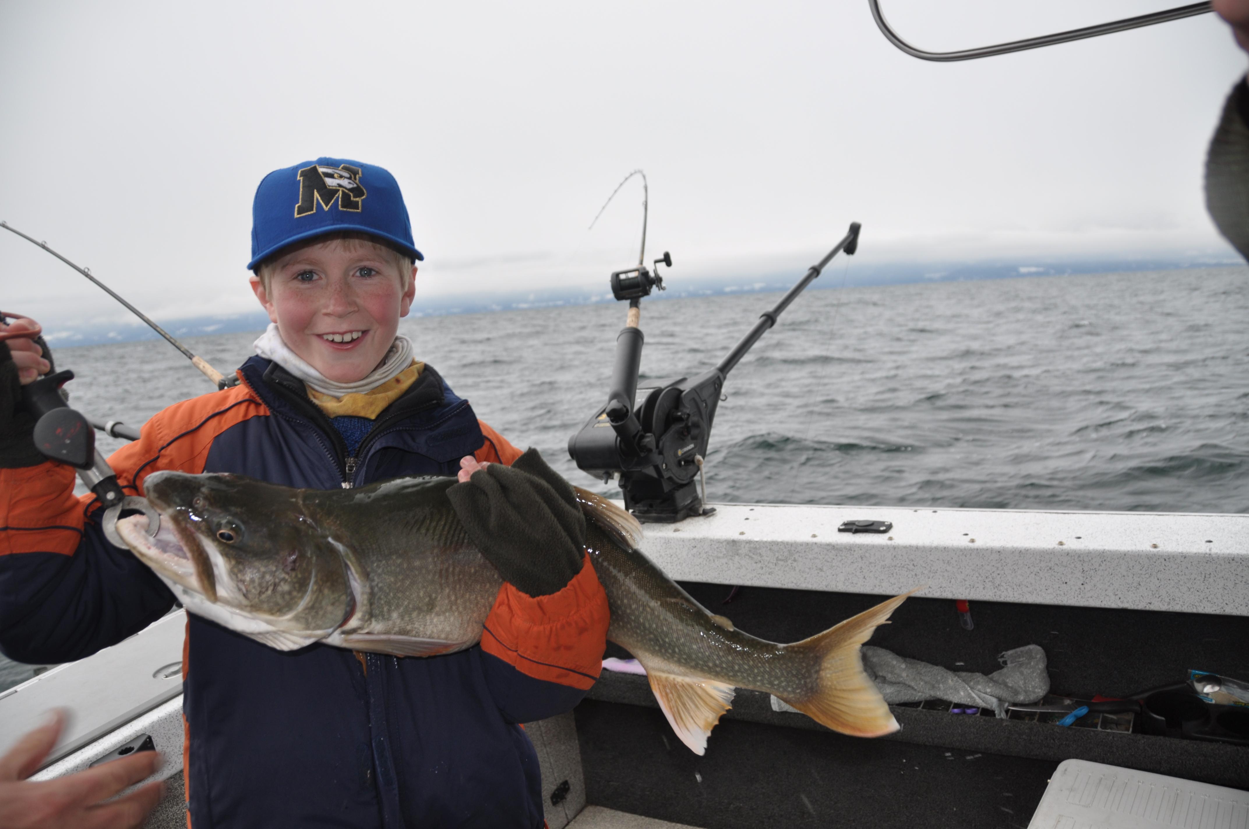 Flathead lake fishing report weather vs fishing montana for Montana fishing report