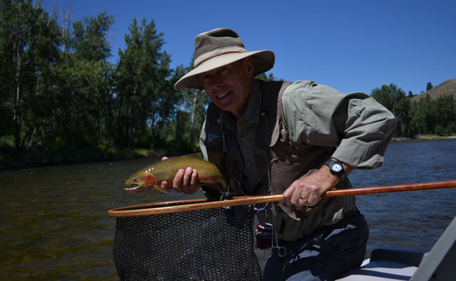 Bitterroot fishing well in the montana fly fishing company for Montana fish company