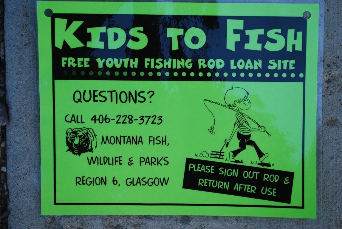 Kids to fish program 400 hi line youths are able to for Fishing stuff for kids