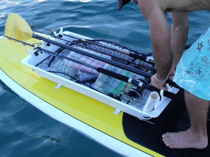 Gear up to sup fish stand up paddle board fishing for Sup fishing board