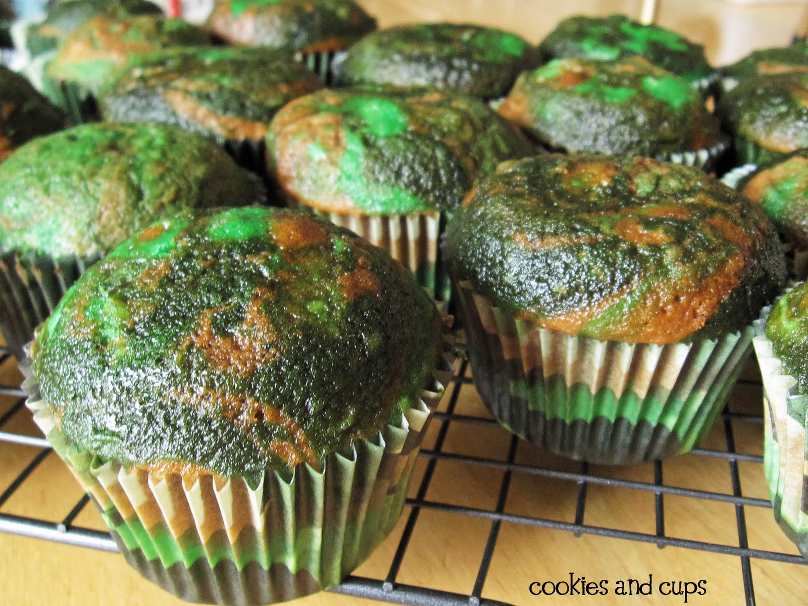 Camouflage Cupcakes Montana Hunting and Fishing Information
