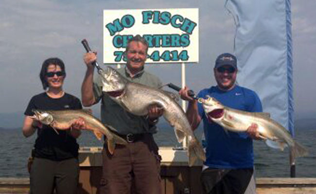Fall fishing report on flathead lake from mo fisch for Hunting and fishing forecast