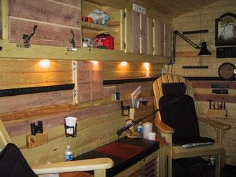 Do you fancy a big shanty montana hunting and fishing for Ice fish house accessories