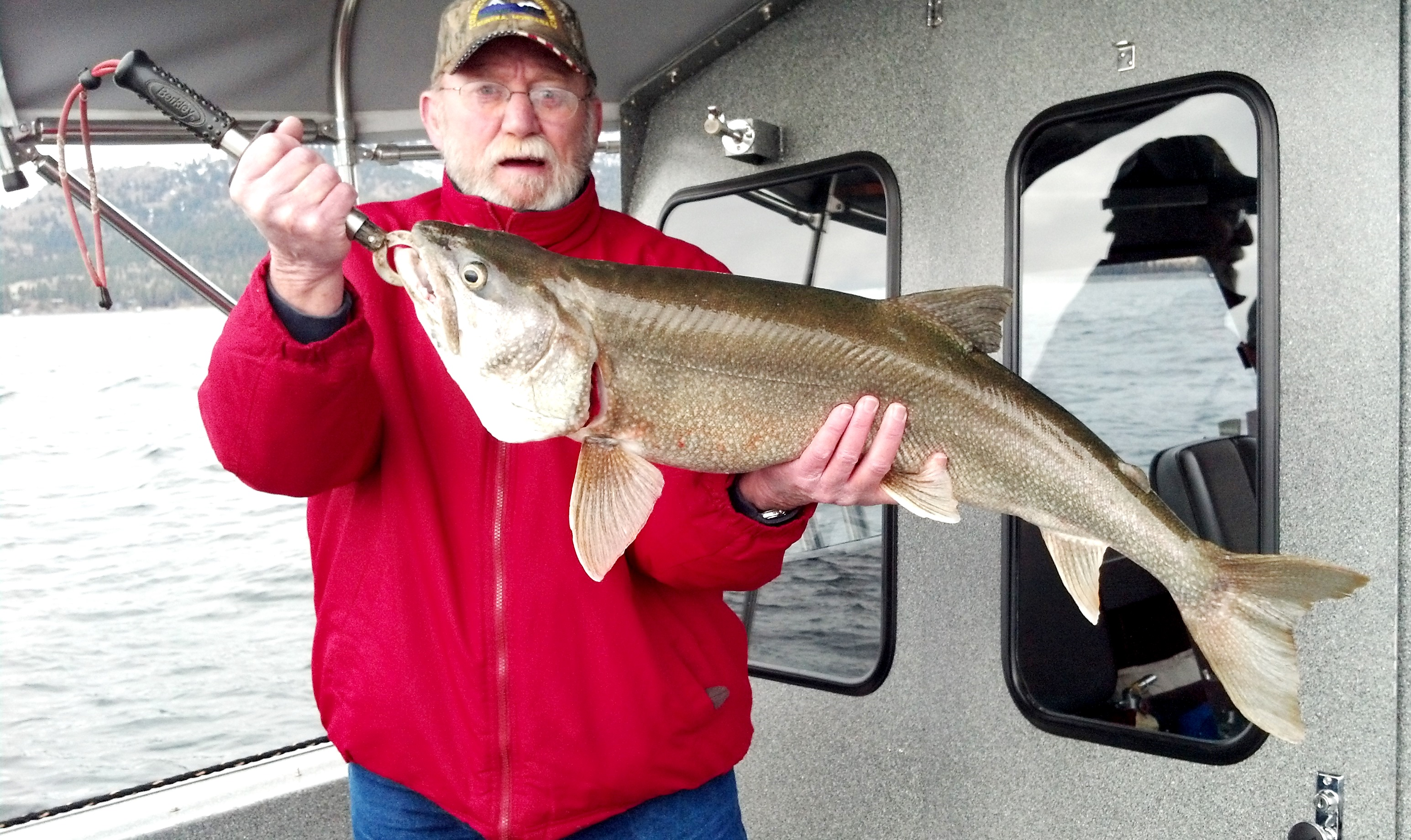Flathead lake trout fishing remains great fishing for Montana fish wildlife and parks drawing results