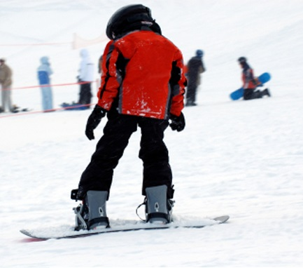 learn_to_snowboard_on_spring_break
