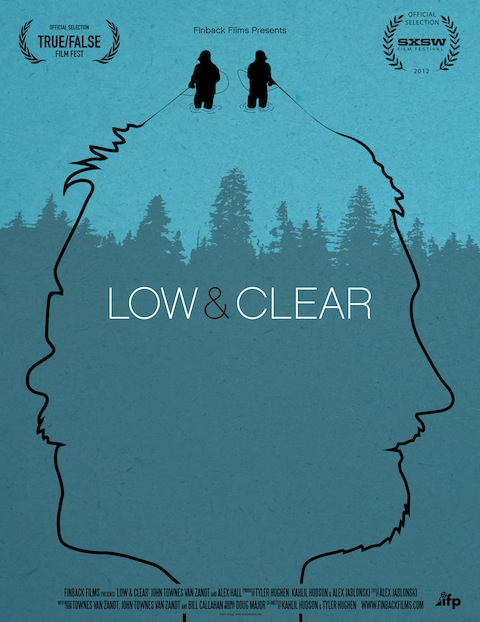 low and clear poster