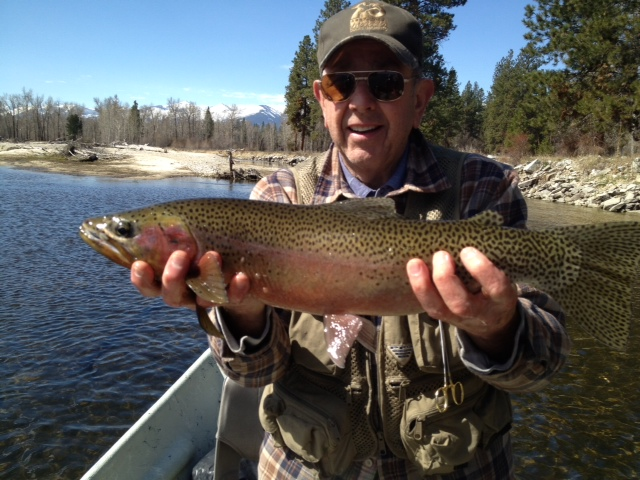 Day fishing on the bitterroot river montana hunting and for Bitterroot fishing report