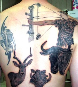 The Best Hunting And Fishing Tattoos Montana Hunting And