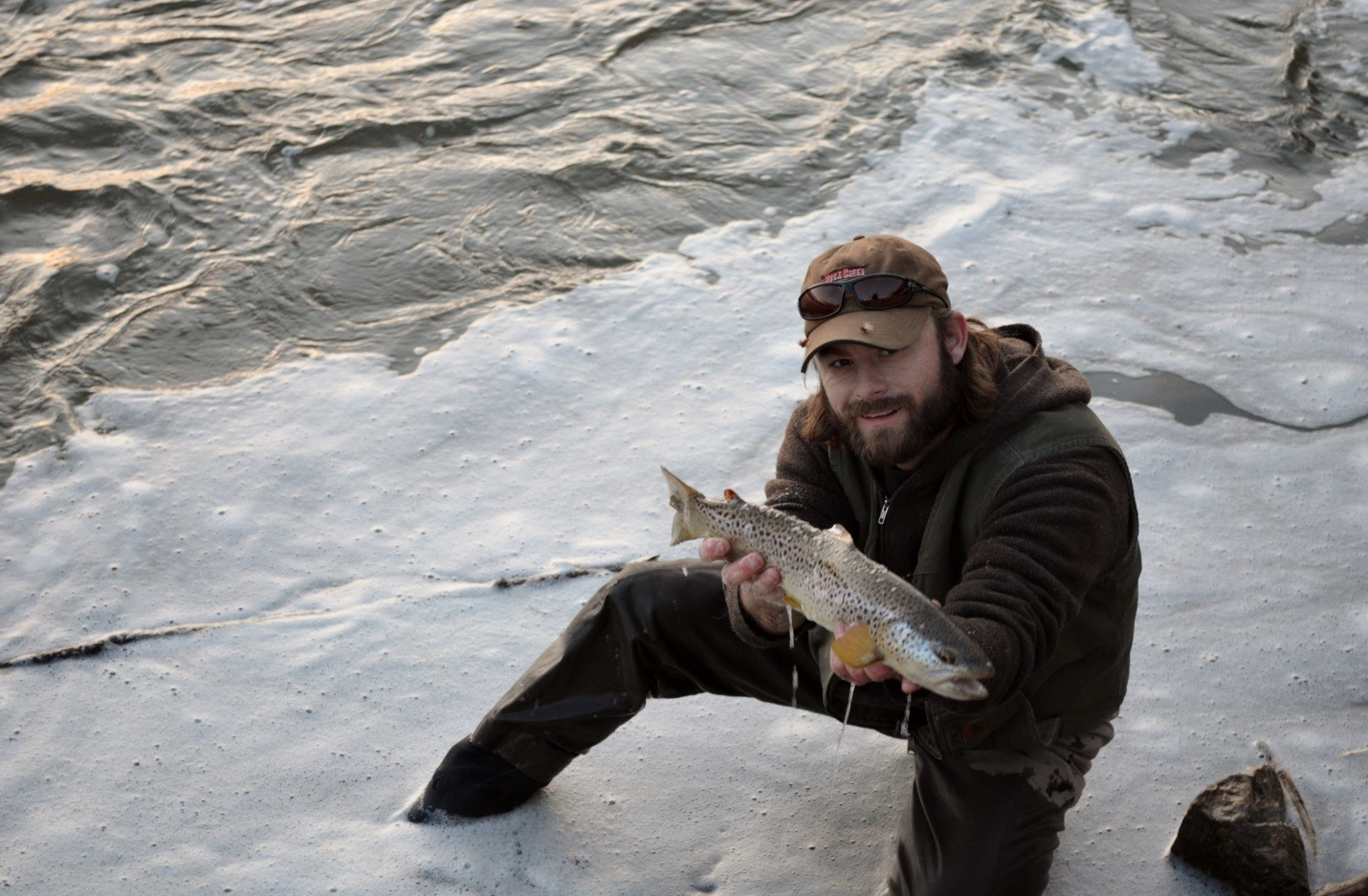 Montana fly fishing report by scott anderson of montana for Montana fish company