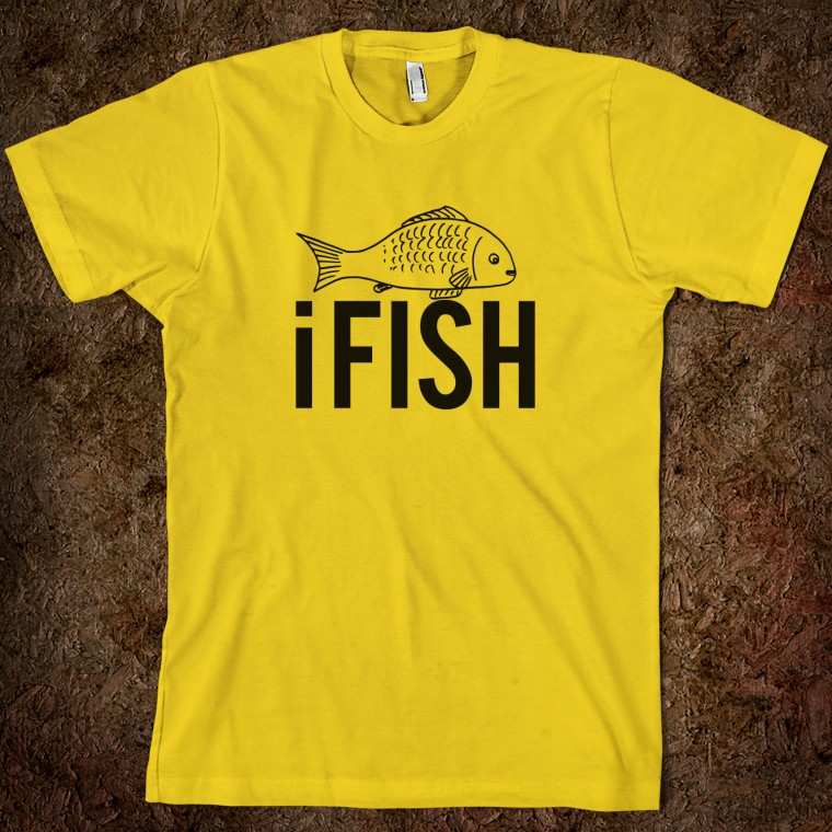 ifish-funny-fishing_american-apparel-unisex-fitted-tee_gold_w760h760