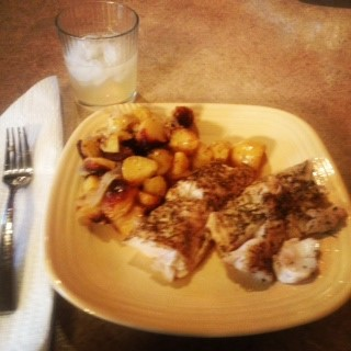 (Rosemary and Thyme BBQ'ed walleye! - courtesy of Trevor Johnson)