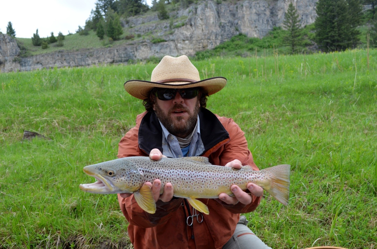 Montana fly fishing report by scott anderson for Montana fly fishing report