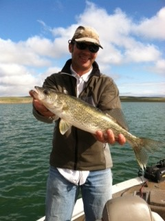Day one fresno walleye challenge results are in montana for Fresno fishing report