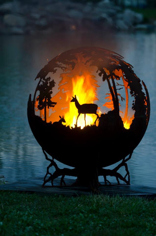 Firepit Creativegreed Montana Hunting And Fishing