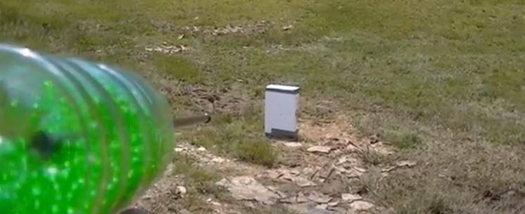 airsoft soda bottle machine gun