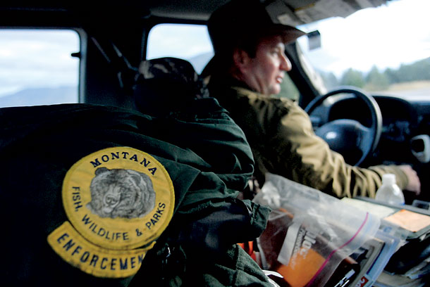 Seven new mtfwp game wardens graduated friday montana for Montana game and fish