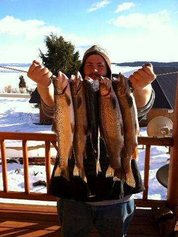 Register today for the 2014 wy hebgen lake ice fishing for Hebgen lake fishing report