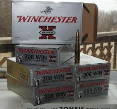 A box of ammo for your favorite hunter's favorite hunting rifle (Bob Wards has ammo!)