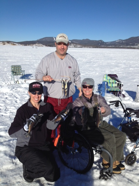 Georgetown lake ice fishing montana hunting and fishing for Lake georgetown fishing