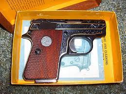 Browning Colt Pocke pistol