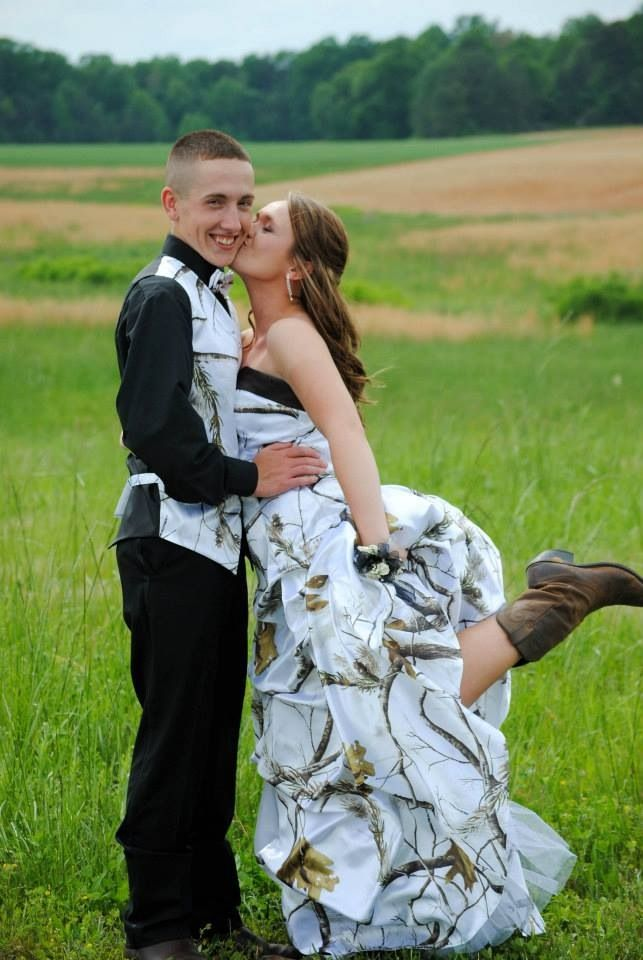 Redneck Prom Attire – Camo at its Finest? - Montana Hunting and ...