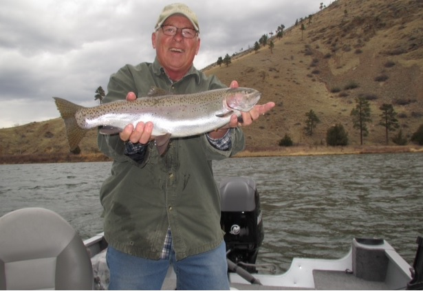 Two good days of fishing for two good fishermen montana for Good fishing days