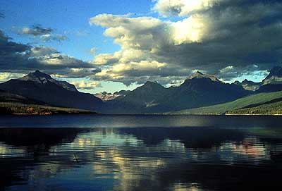 (photo of Lake McDonald via Wikipedia.org)