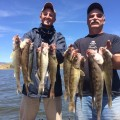 Photo is of Jim Johnson and Adam Strainer at Canyon Ferry.