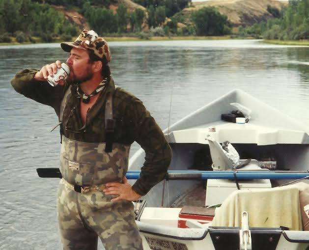 A cold beer by montana grant montana hunting and for Fish and beer