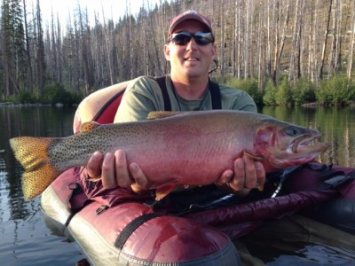 Monster mountain lake cutthroat montana hunting and for Hebgen lake fishing report