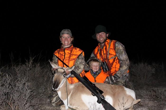 Family hunting memories last.