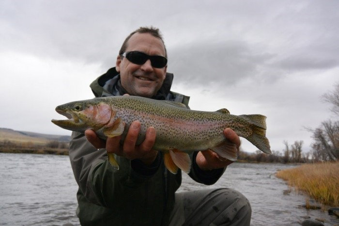 Upper madison river fishing report 10 27 14 montana for Upper madison fishing report