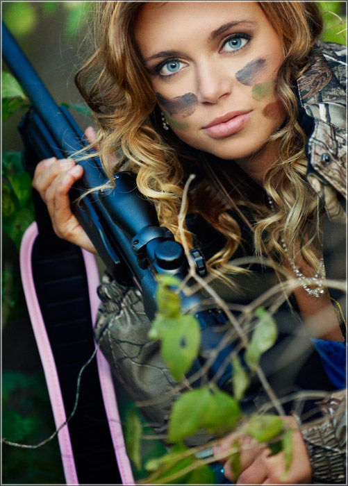 Hunting and Fishing-Themed Senior Pictures for High ...