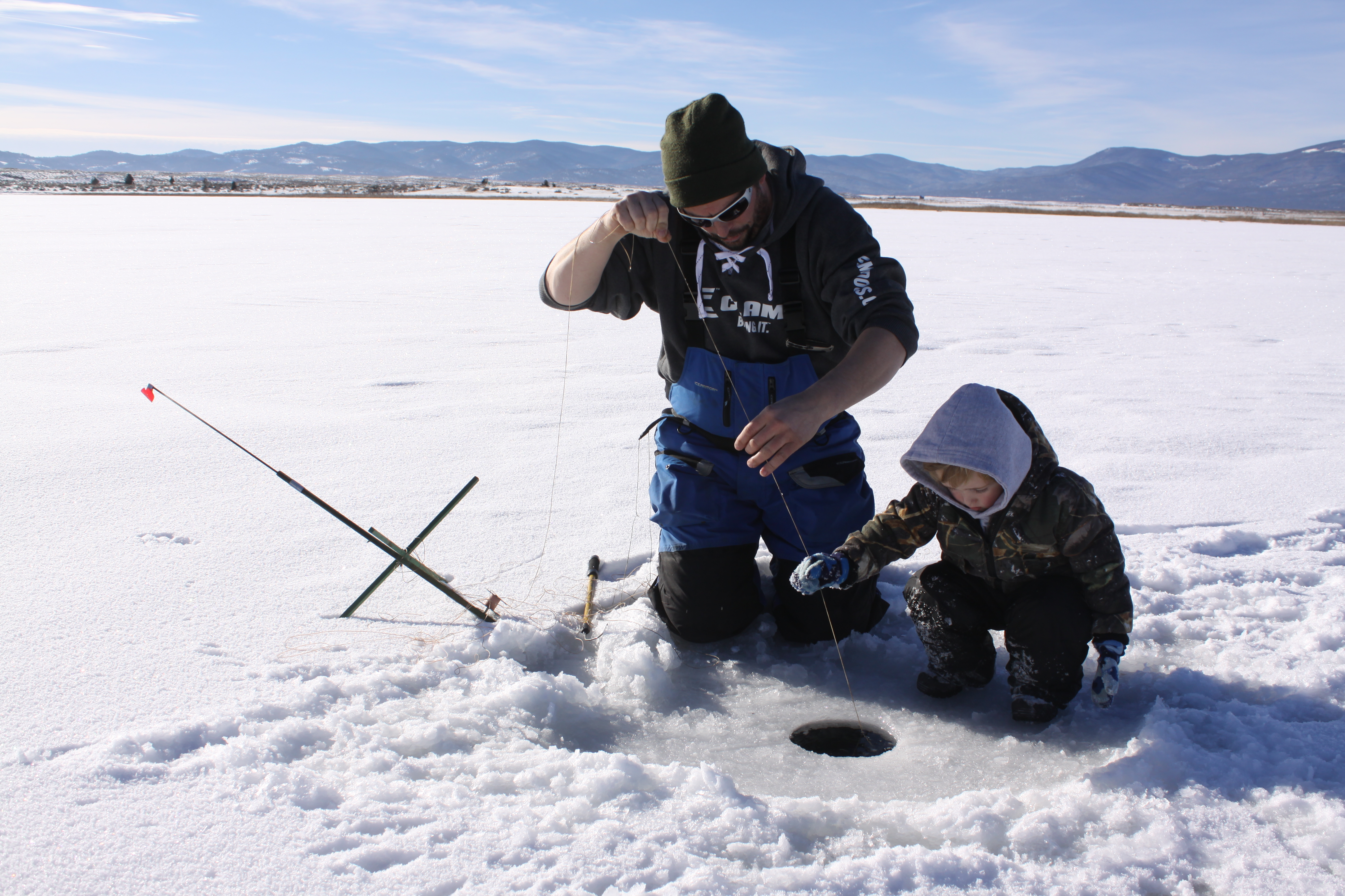 December Ice Fishing Montana Hunting And Fishing
