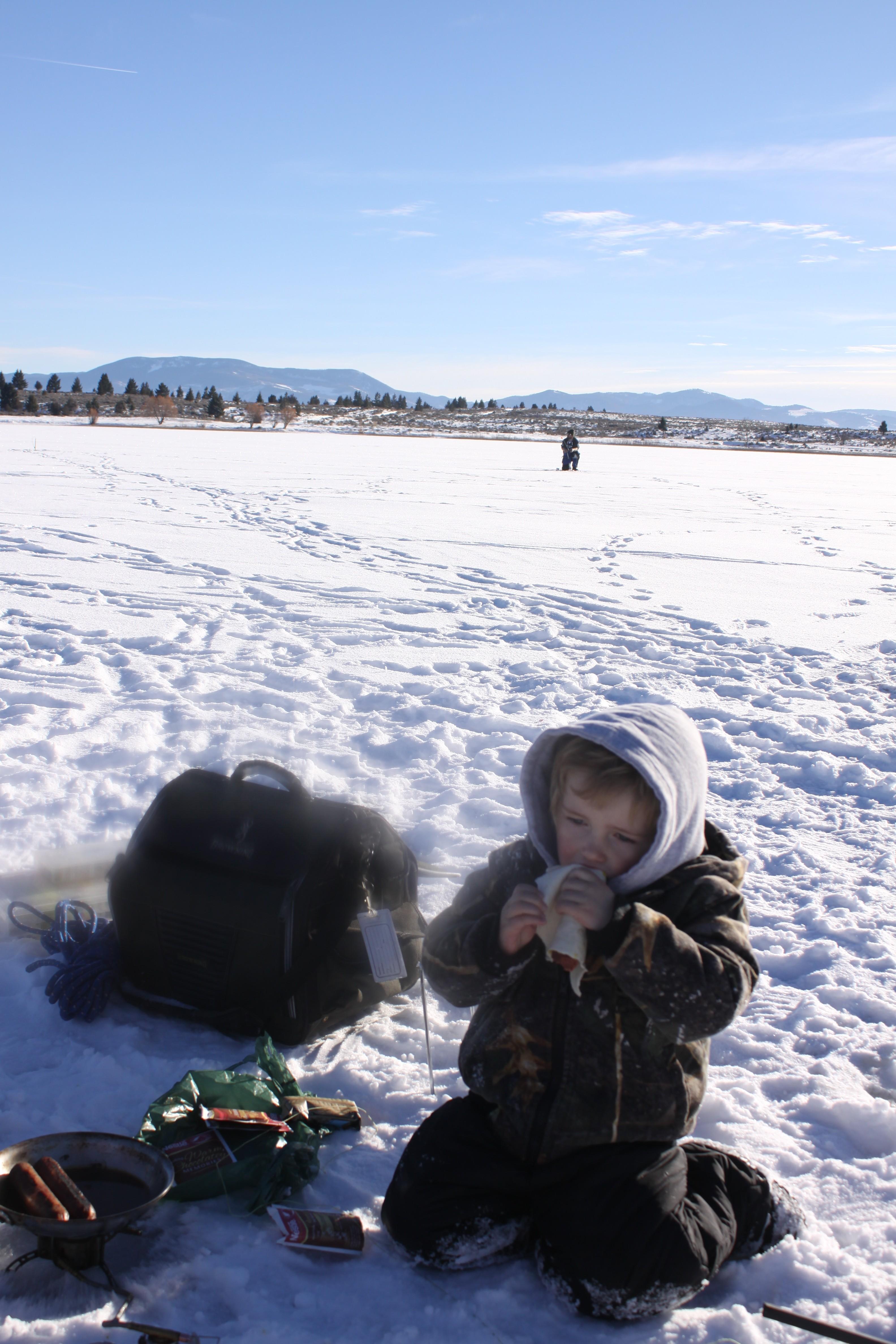 Montana outdoor radio show montana fishing montana ice for Ice fishing show