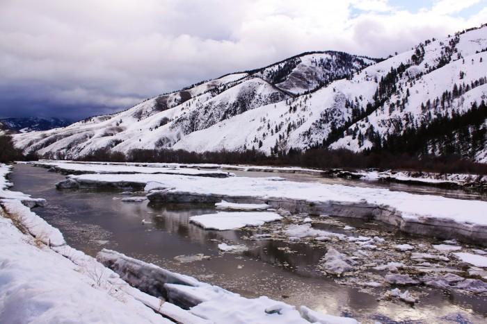 Georgetown lake ice fishing report montana outdoor radio for Lake georgetown fishing