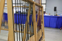 TFO Rods lined up at the Expo