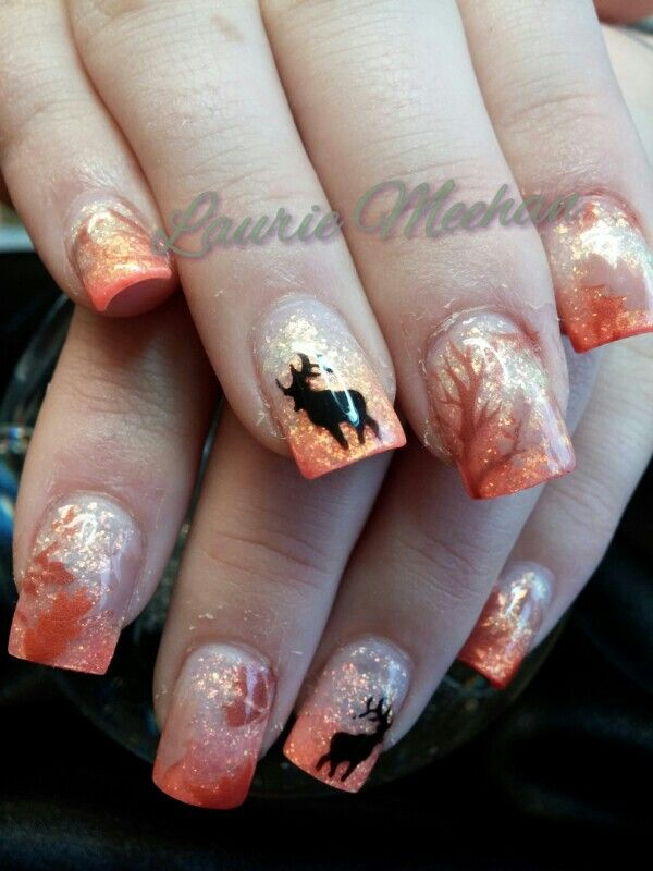 Ladies–Would You Represent Hunting with Hunting-Themed Nails ...