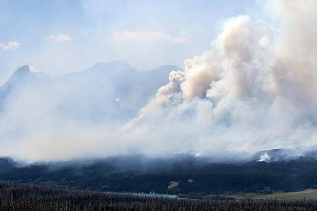 Wildfire_in_Glacier_National_Park_Doubles_in_Size__Burns_Historic_Cabin_-_Flathead_Beacon