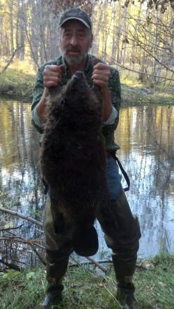 Bob with Beaver 1